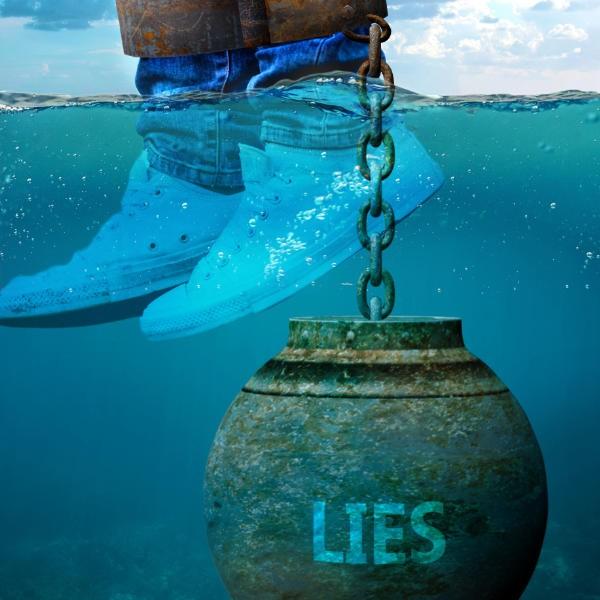 teen lying