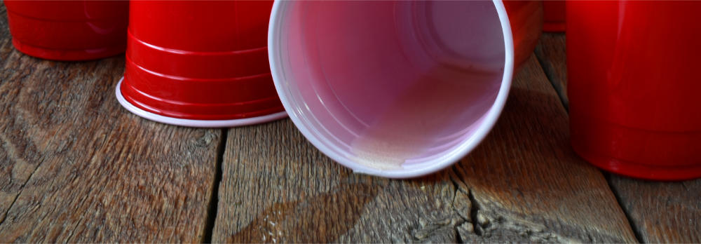 Spilled Red Cup